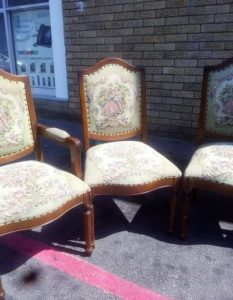 Cleaning Dining Room Chairs